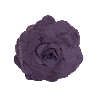 Montrose Throw Pillow Color: Violet