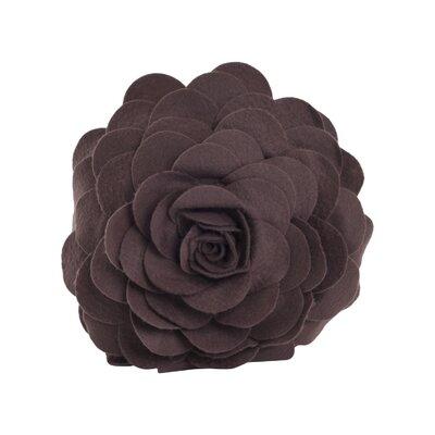 Montrose Throw Pillow Color: Chocolate