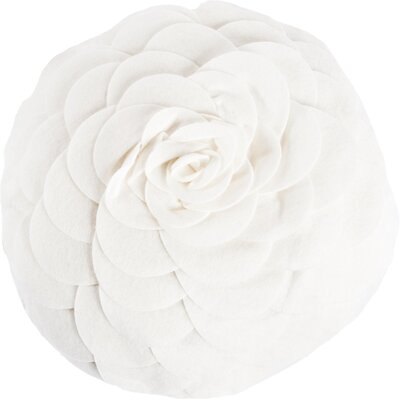 Montrose Throw Pillow Color: Ivory
