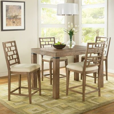 Lyons 3 Piece Counter Height Dining Set