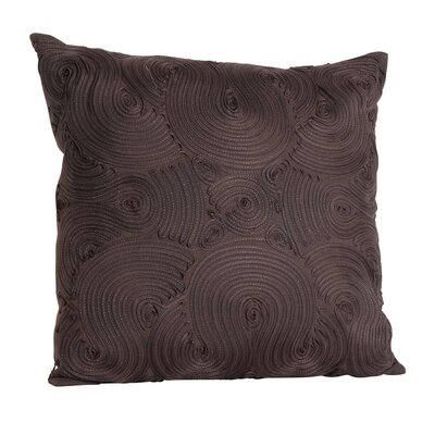 Montrose Throw Pillow Color: Chocolate
