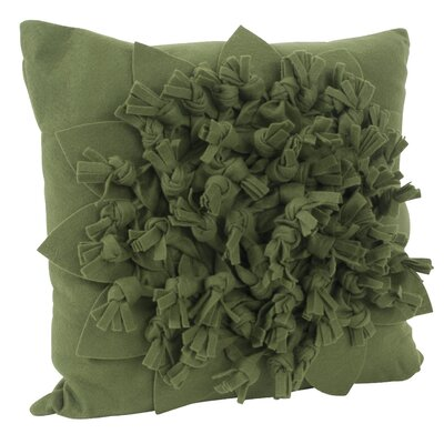 Montrose Felt Throw Pillow Color: Kiwi