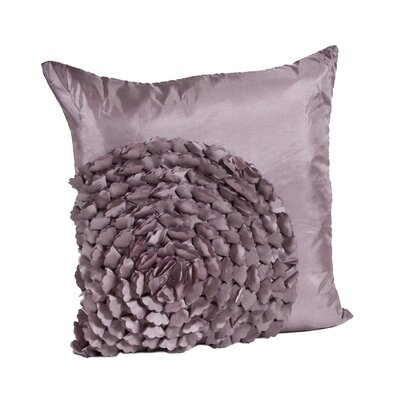 Montrose Throw Pillow Color: Mauve