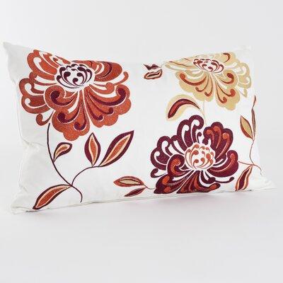 Montrose Cotton Lumbar Pillow Color: Tangerine