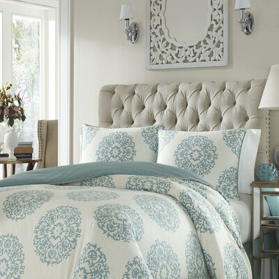 Hinsdale 3 Piece Duvet Set Size: Full/Queen