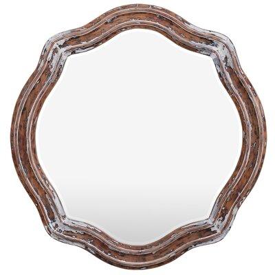 Rose Majestic Extreme Mahogany Mirror