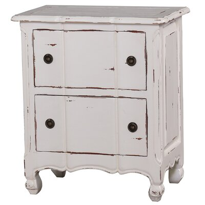 Lemieux 2 Drawer Nightstand