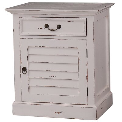 Lemieux 1 Drawer Nightstand