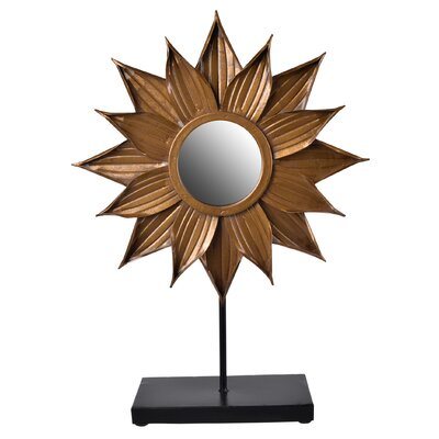 Cooper Flower Table Mirror