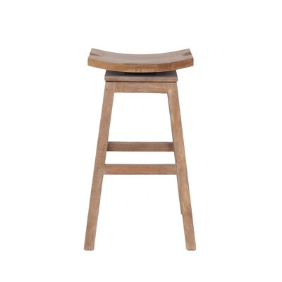 Probst 29 Bar Stool Frame Finish: Natural