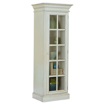 Mertie Small Library Cabinet Finish: Old White