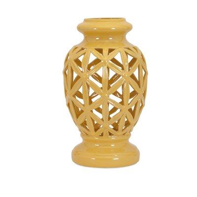 Clarey Cutout Vase Size: Large