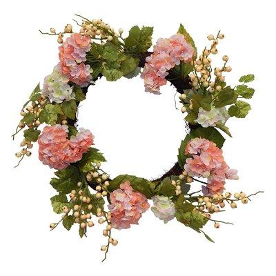 24 Lush Hydrangea Wreath