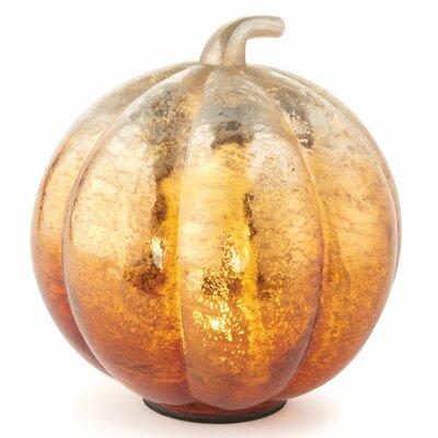 Harvest Glass Pumpkin Led
