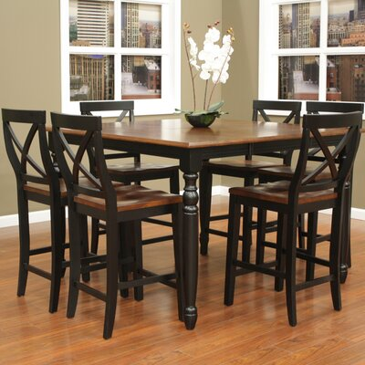 Deer Lodge 7 Piece Counter Height Dining Set