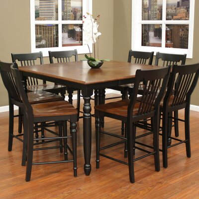 Deer Lodge Counter Height Extendable Dining Table