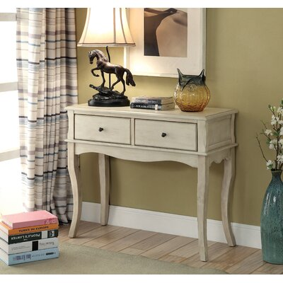 Ledoux Console Table Finish: Antique White