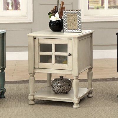 Letellier End Table Finish: Antique White