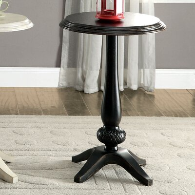 Lenoir End Table Finish: Antique Black