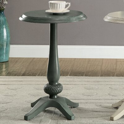 Lenoir End Table Color: Antique Teal