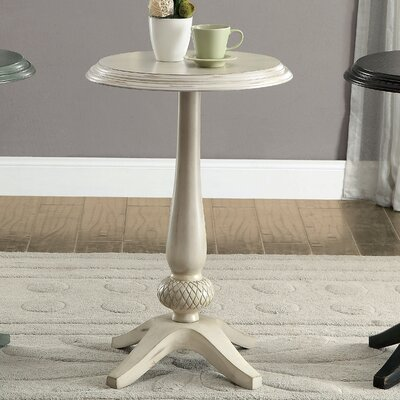 Lenoir End Table Color: Antique White