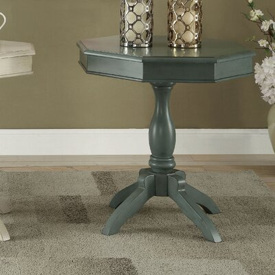 Leclerc End Table Finish: Antique Teal