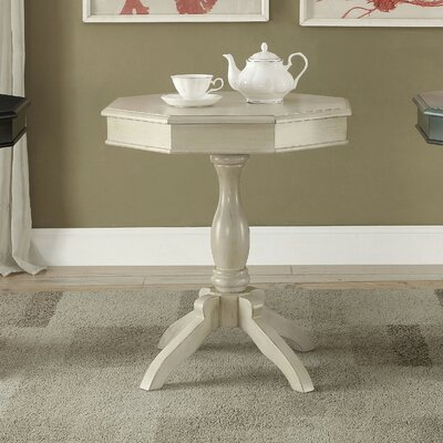 Fermont End Table Color: Antique White