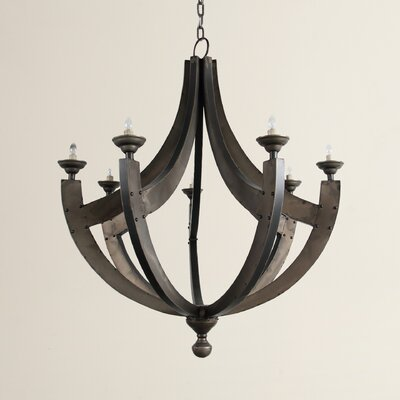 Vannatter 7-Light Candle-Style Chandelier