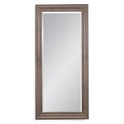 Nettie Rustic Brown Wooden Leaner Mirror
