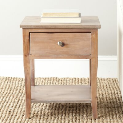 Alayna End Table Finish: Red Maple