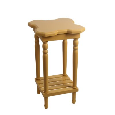 Narcisse End Table Finish: Yellow