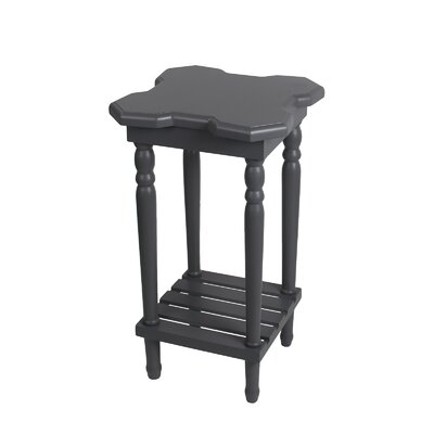 Narcisse End Table Finish: Gray