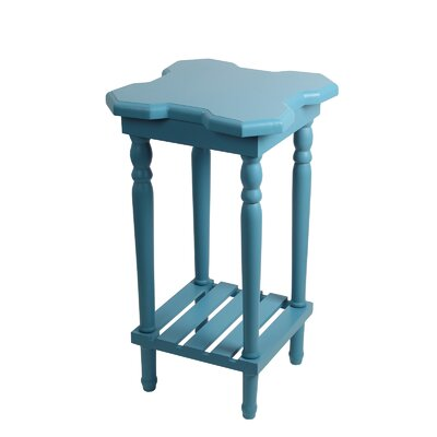 Narcisse End Table Finish: Blue