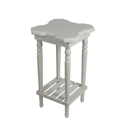 Narcisse End Table Finish: White