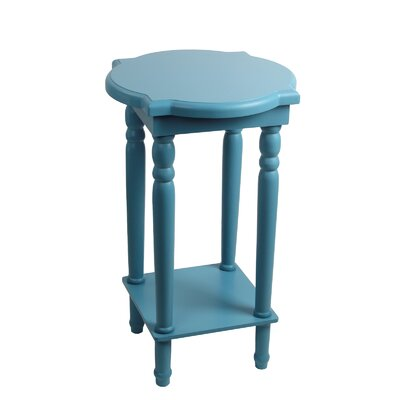 Papineau End Table Finish: Blue