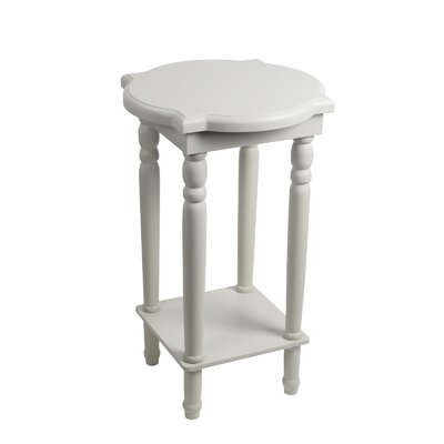 Papineau End Table Finish: White