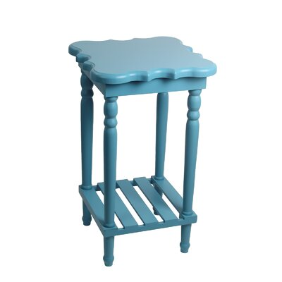 Pascale End Table Finish: Blue