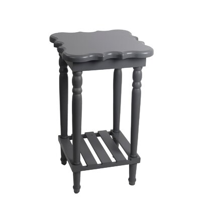 Pascale End Table Finish: Gray