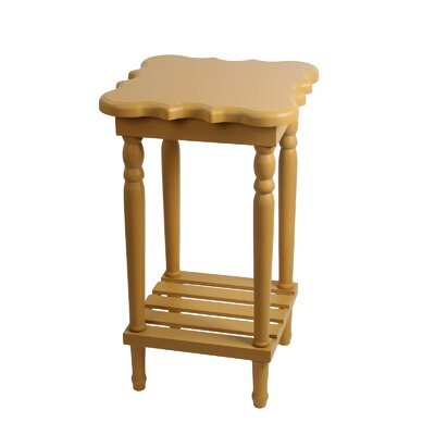 Pascale End Table Finish: Yellow