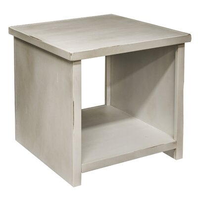 Purington End Table Color: White