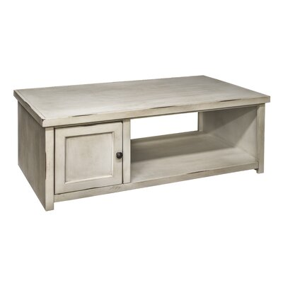 Purington Coffee Table Color: White
