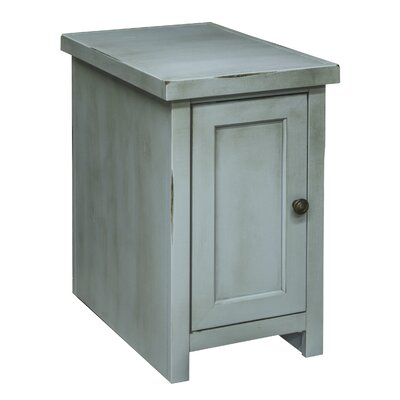 Bess Chairside Table Finish: Blue