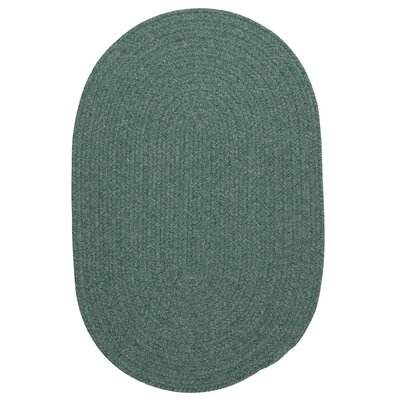Navarrette Teal Area Rug Rug Size: Oval 3 x 5