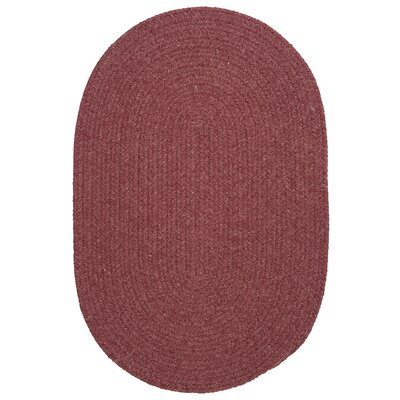 Navarrette Mauve Area Rug Rug Size: Oval 10 x 13