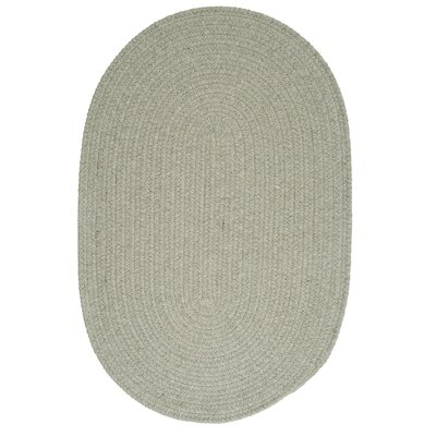 Navarrette Moss Green Area Rug Rug Size: Round 10