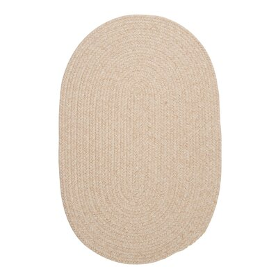 Navarrette Natural Area Rug Rug Size: Oval Runner 2 x 8