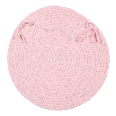 Dining Chair Cushion Color: Blush Pink
