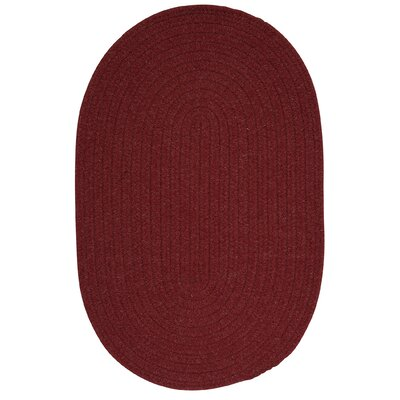 Navarrette Holly Berry Area Rug Rug Size: Oval 7 x 9