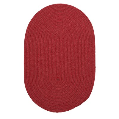 Navarrette Red Outdoor Area Rug Rug Size: Round 6
