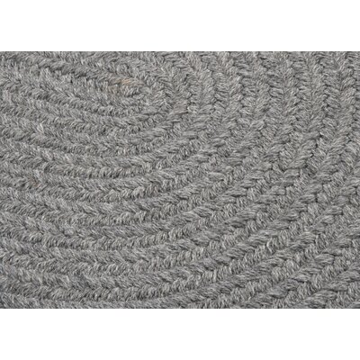 Navarrette Gray Area Rug Rug Size: Oval Runner 2 x 12